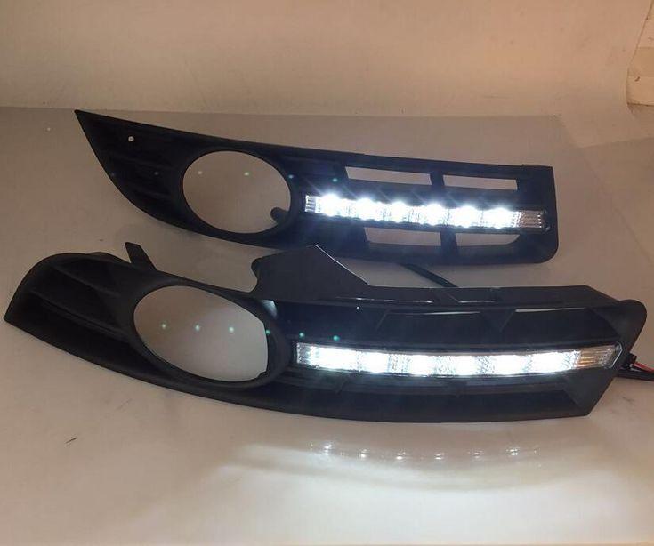 Best price US $65.00  eOsuns LED DRL daytime running light  For volkswagen VW Passat B6 3C 2006-11, wireless switch, dim control, no chrome version