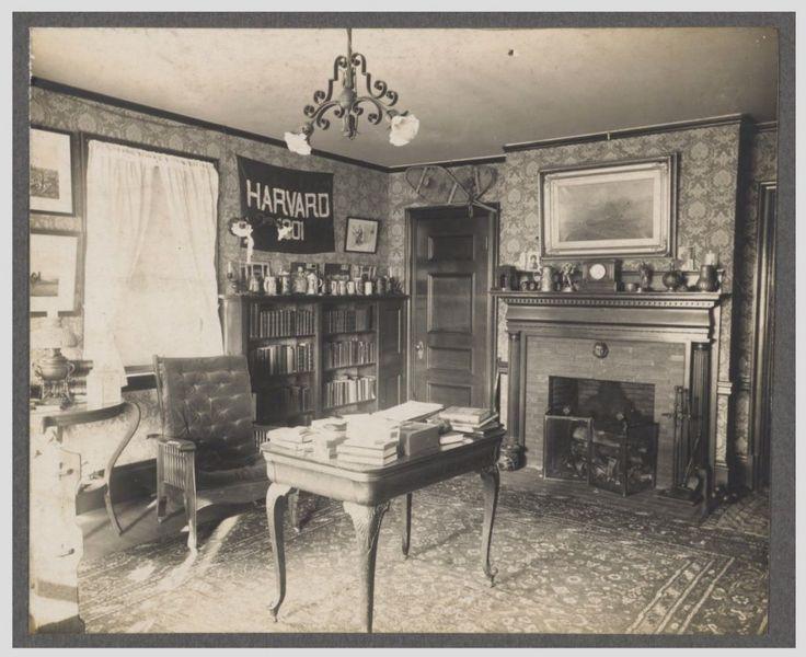 Harvard Dorm Rooms, 1899 Part 57