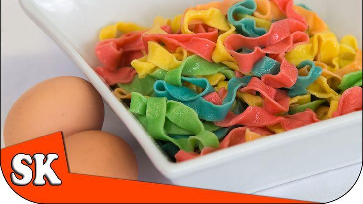 How to Make Rainbow Pasta - Rainbow Series 04