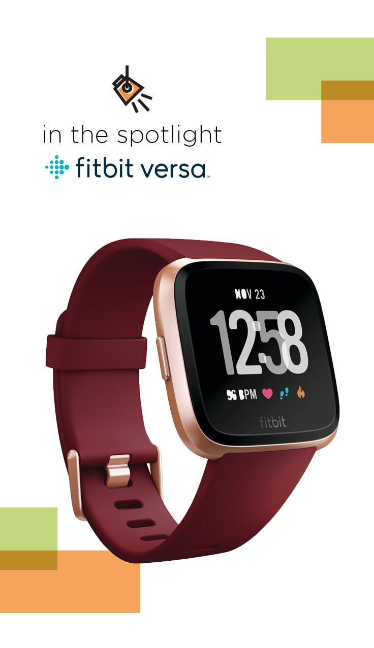 fitbit versa special edition health & fitness smartwatch