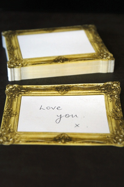 Picture Frame Post It Notes, ohh the possibilities!