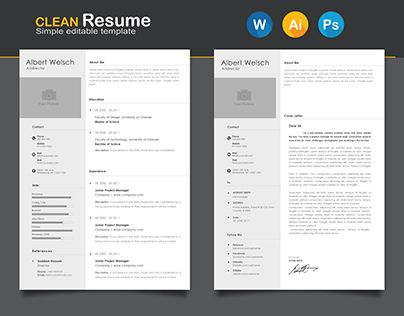 check out new work on my behance portfolio free resume http