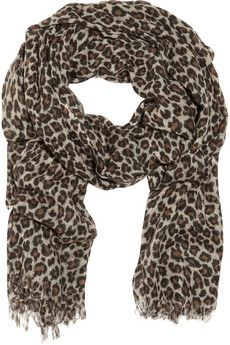 Is it worth is to splurge on leopard print cashmere scarf?