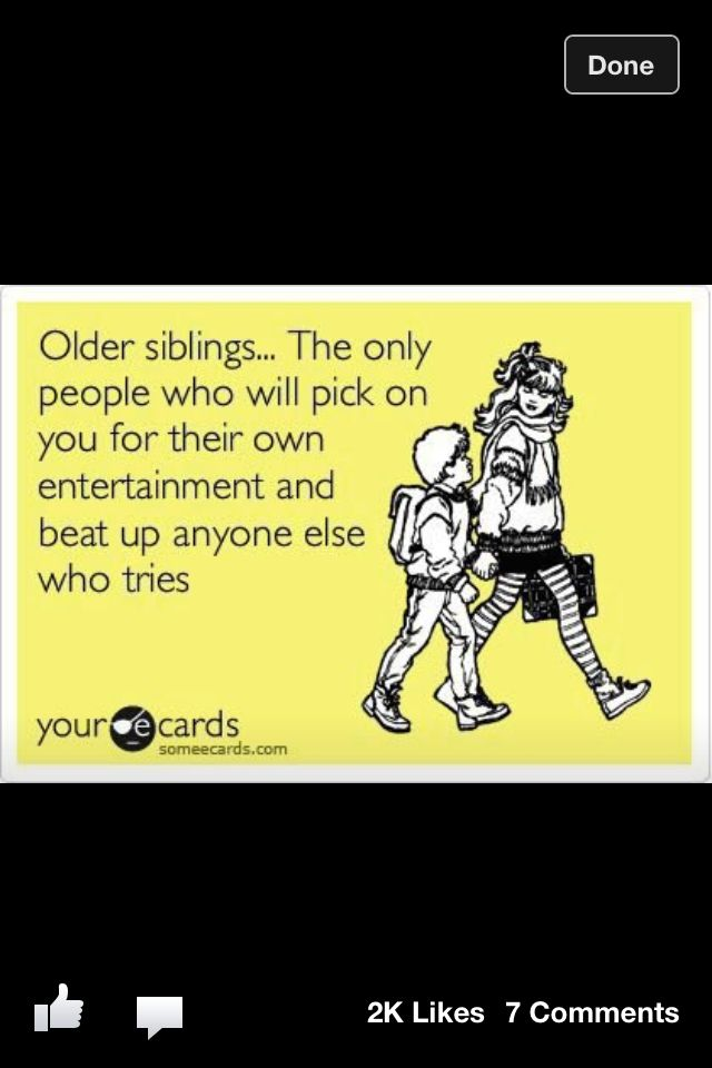 funny pictures sibling quotes relationship