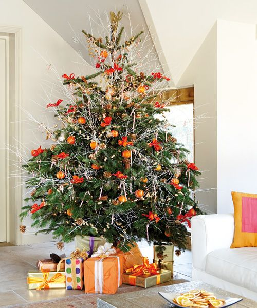 Christmas Decorations With Orange: 1000+ Ideas About Orange Christmas Tree On Pinterest