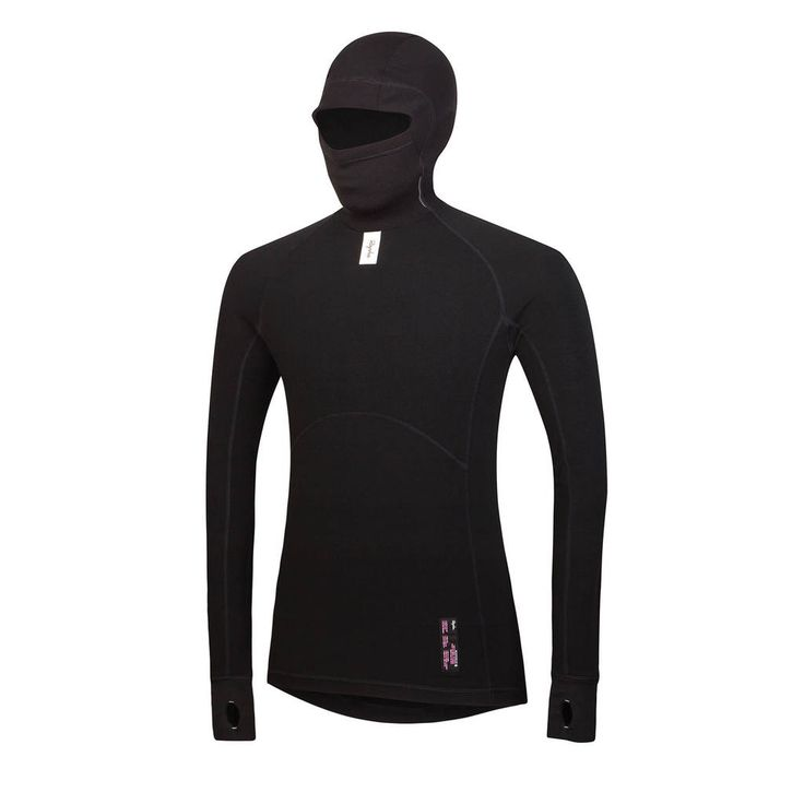 Great Cross Use for Running and/or Cycling (Even has reflective rear on hood!) - Rapha Deep Winter Base Layer