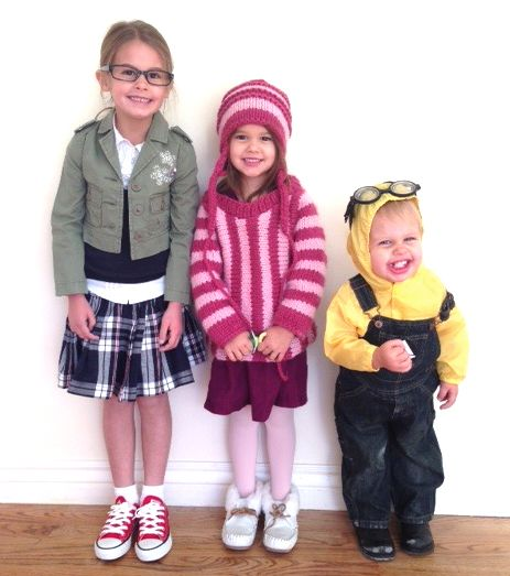 despicable me costumes Margo Edith Minion | Made by L