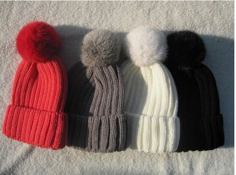 Winter Pompom Knit Beanie for Ladies - Rebel Style Shop - 3