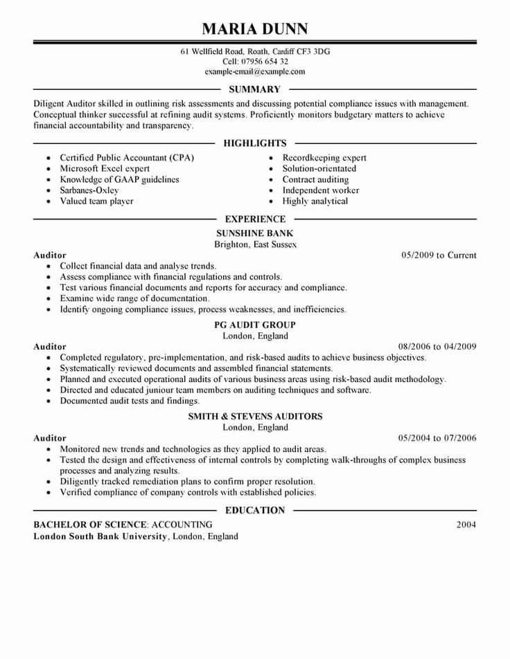 25 Finance Resume Template Word in 2020 Manager resume