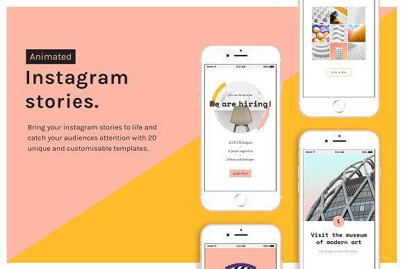 Animated Instagram Stories Instagram Story Instagram Instagram Story Template