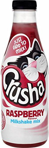 Crusha Mixa Raspberry Flavour Milkshake Mix (740ml) - Pack of 2 *** Click on the image for additional details.
