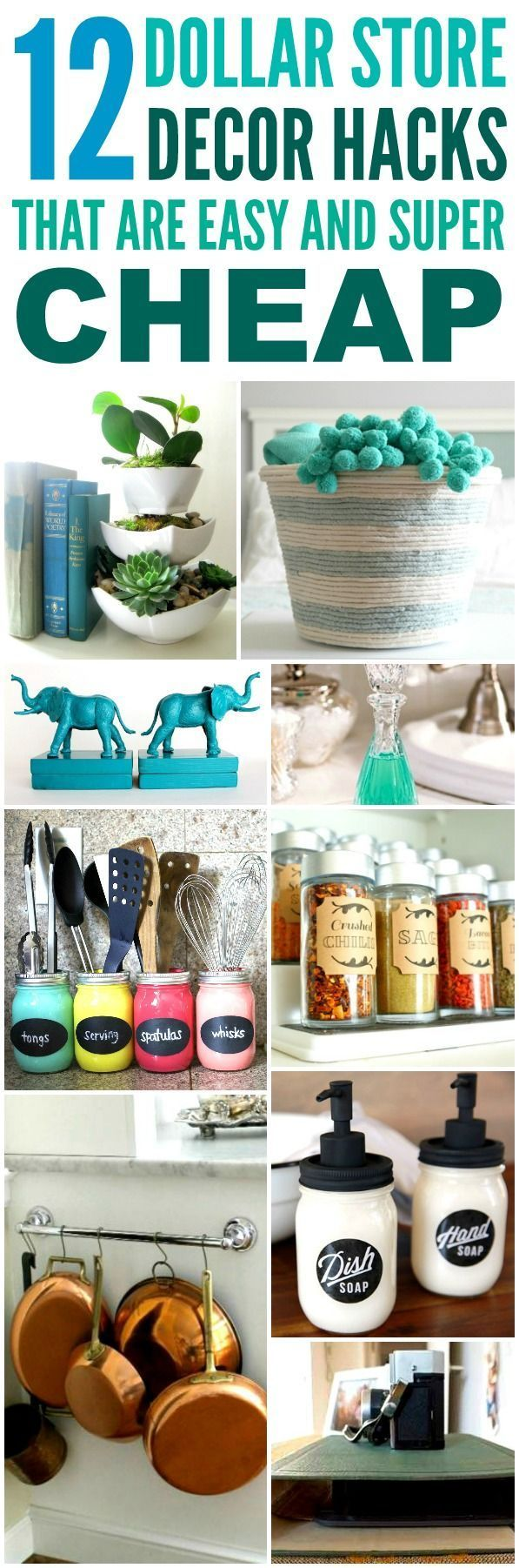 dollar store decorating hacks best 25 dollar decorating ideas on 10802