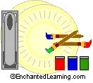 Thinking Day. Our plan is to have visitors to our booth decorate the folded paper plated before  adding beans.   Paper Plate Maracas Craft - Enchanted Learning Software