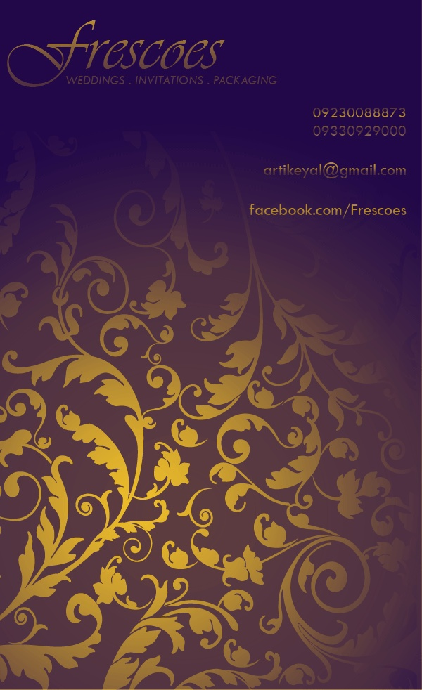 24 best Frescoes images on Pinterest Indian wedding invitations - invitation card kolkata