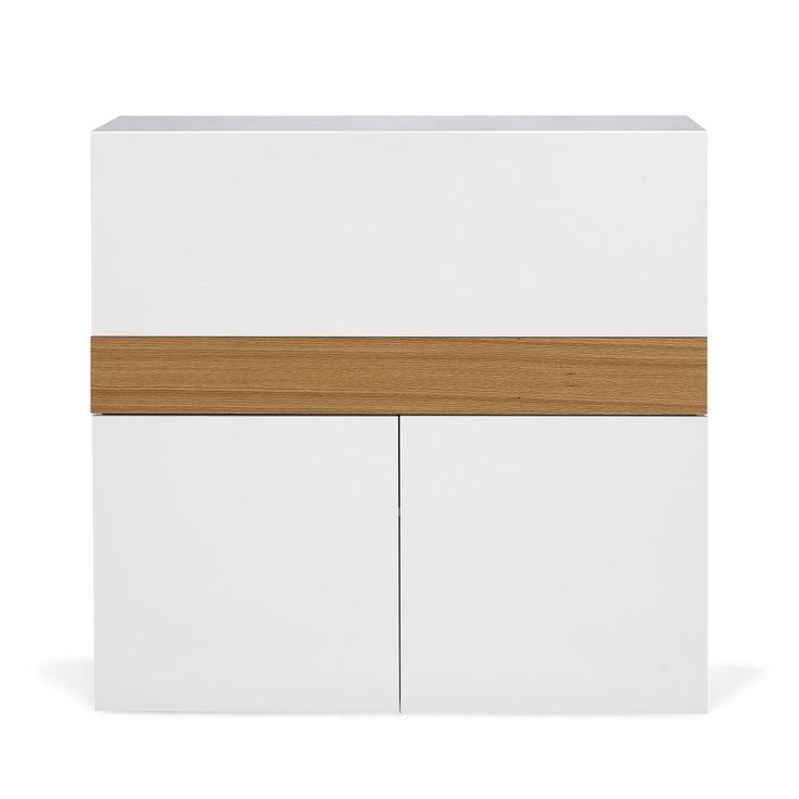 biblioth que secr taire avec porte rabas focus les bureaux adultes les bureaux bureau. Black Bedroom Furniture Sets. Home Design Ideas