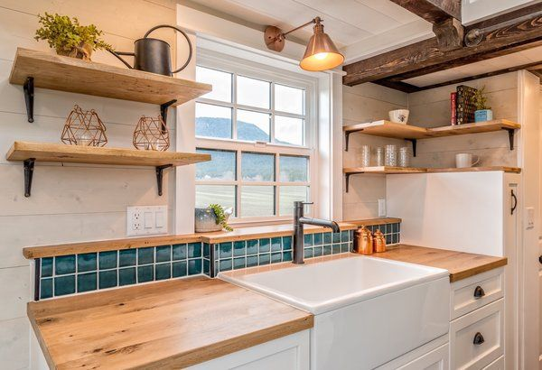 Photo 10 of 10 in This Canadian Tiny Home Beams a Rustic, West Coast…