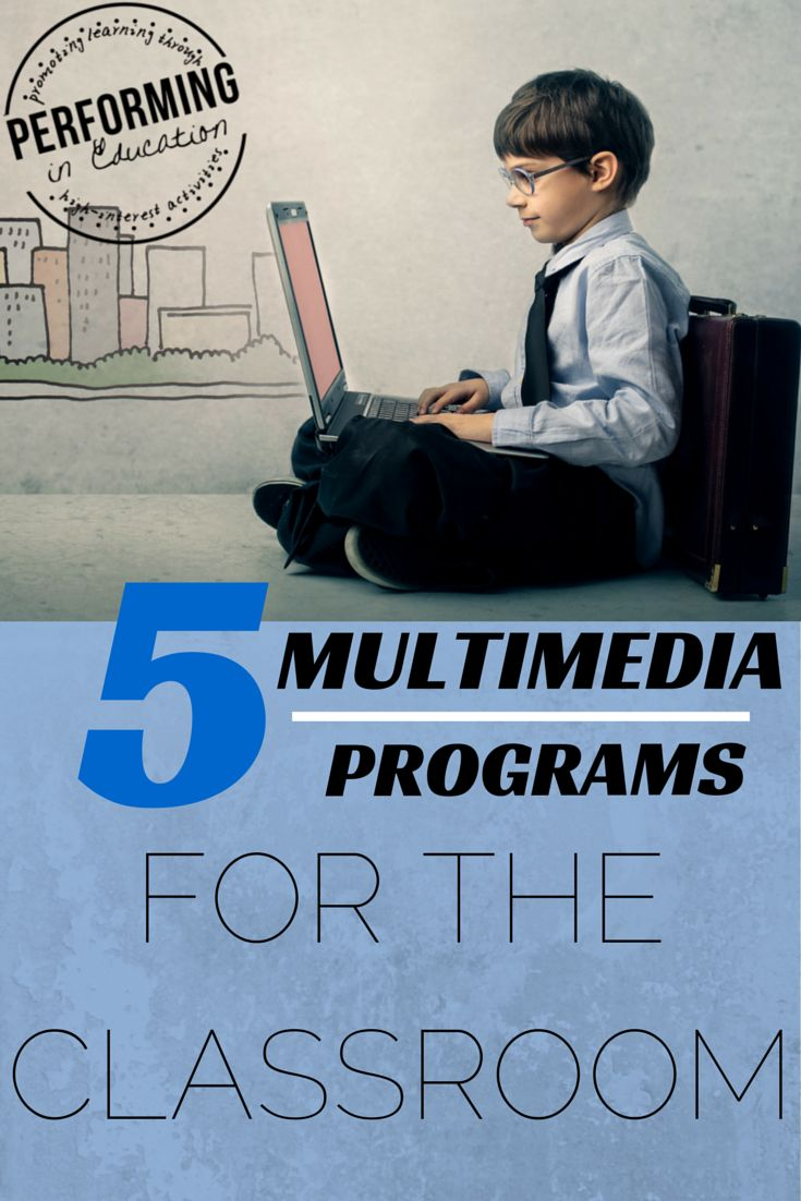 Multimedia programs for computers that your students will love!