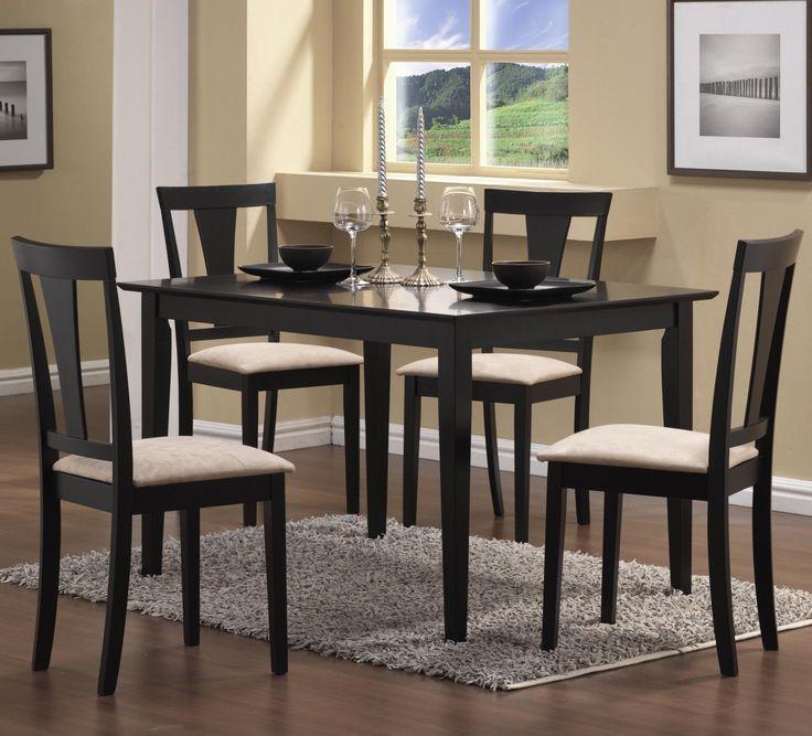 Black Dining Room Table Set Part - 23: Best 25+ Black Dining Room Table Ideas On Pinterest | Dining Room Table,  White Dining Room Table And Black Dining Room Paint