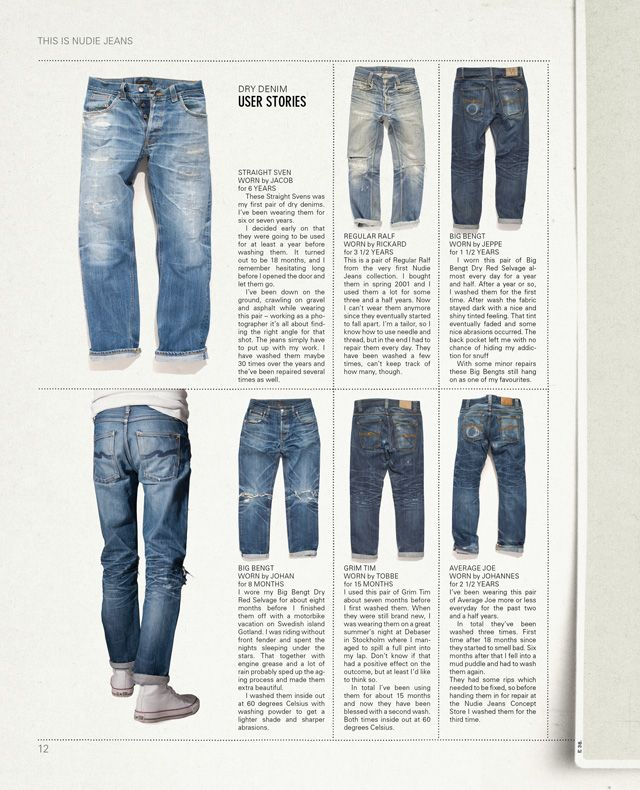Nudie Jeans Co   A High Quality Product Made In A Fair Way