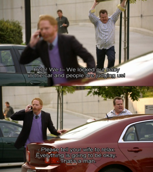 "Modern Family ""people are judging us"""