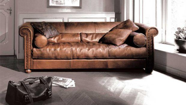 Baxter, il lusso classico dei divani in pelle