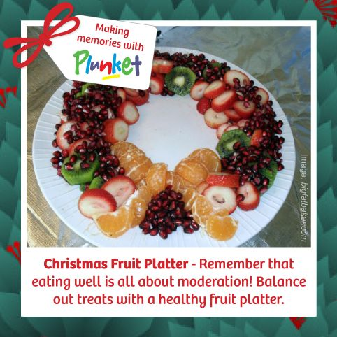 #8 Remember your 5+ a day this holiday season! #plunketadventcalendar