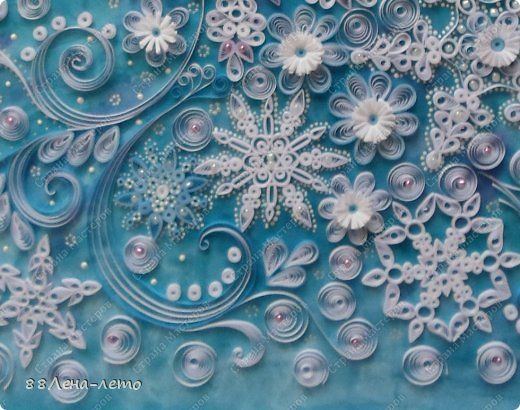 Картинки квиллинг зима