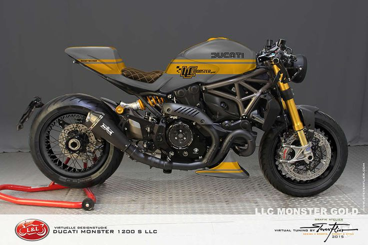 Ducati Monster 1200 special
