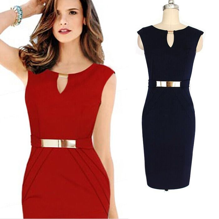 New Arrival Fashion Sexy Slim Dress Red And Black Body Suit Sexy Women Party Dress 2017 Club-Wear Sleeveless Dress