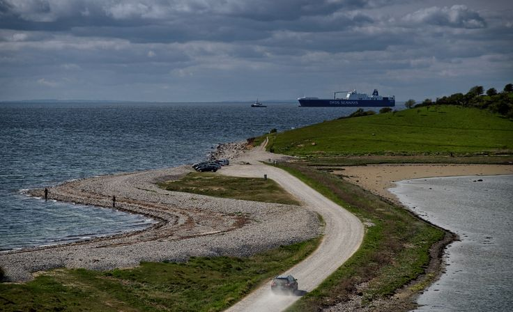 DFDS Seaways Ark Dania at Fyns Hoved, northeast Funen, Denmark... | Flickr - Photo Sharing!