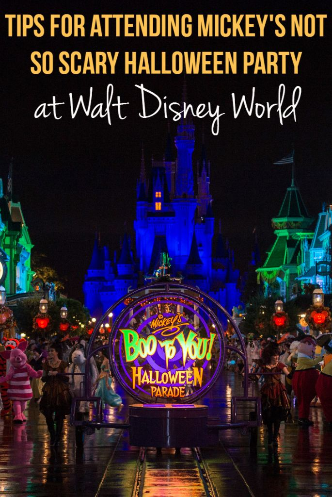 Tips for attending Mickey's Not So Scary Halloween Party at Walt Disney World