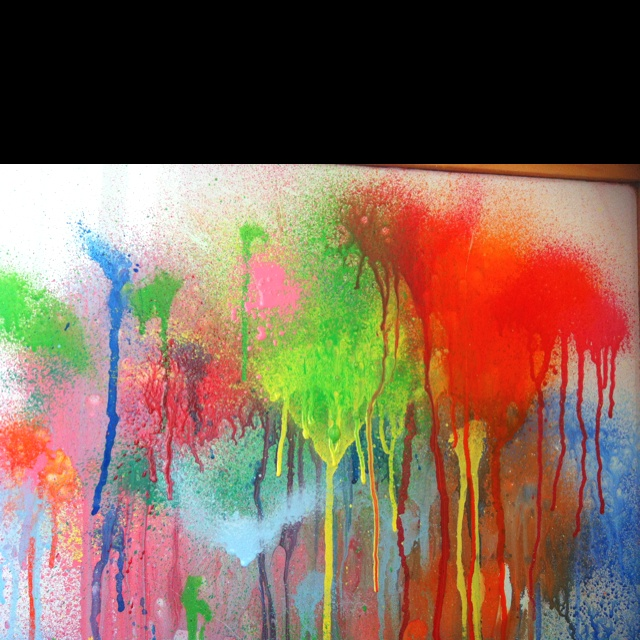 tempera spray painting backgrounds painted paper pinterest. Black Bedroom Furniture Sets. Home Design Ideas