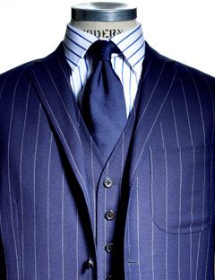Three Piece Suit Advice - How to Wear a Vest Lapel - Esquire