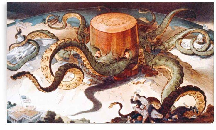 Monopolio del petrolio (1904) RCS Mosaico - Anteprima: Società di massa