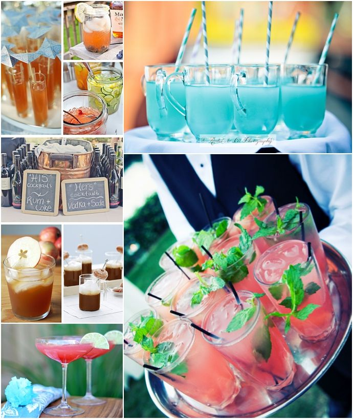 Cocktail Ideas for your Wedding Day
