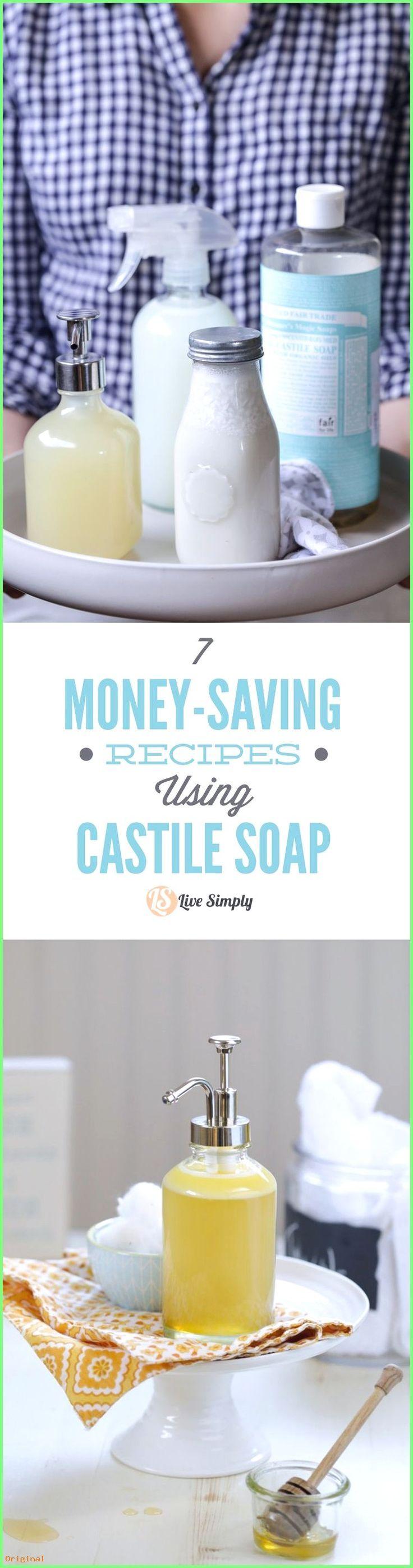 50+ Hautpflege – 7 geldsparende Rezepte mit Kastilienseife! So viele erstaunlich…