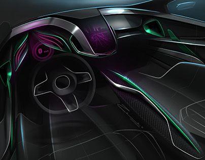 "Automotive Interior - by Cesar Zanardo Check out new work on my @Behance portfolio: ""Brandless Interior Proposal #02"" http://be.net/gallery/51412837/Brandless-Interior-Proposal-02"