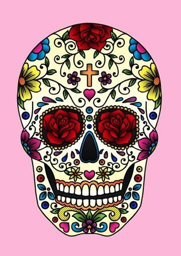 caveiras mexicanas desenhos - Pesquisa Google