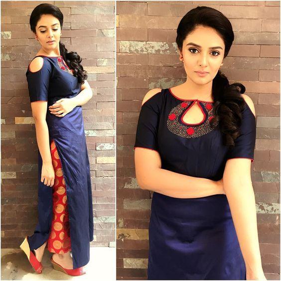 Sreemukhi in Rekha's House Of Couture – boutiquesareeblouse.com