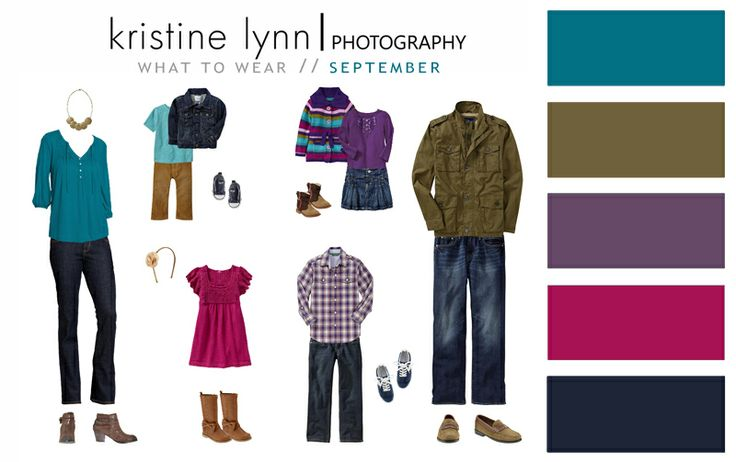Kristine Lynn Photography: Trendy Tuesdays :: What to Wear #family #photography #whattowear