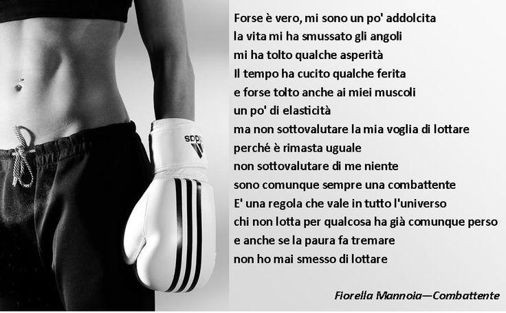 Fiorella Mannoia#Combattente