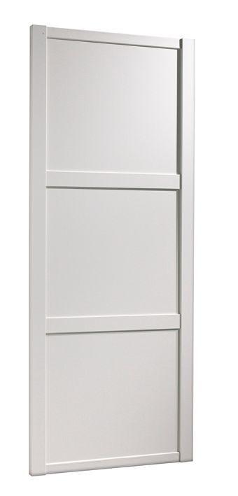 Traditional White Sliding Wardrobe Door (H)2.22 M (W)610 mm | Rooms | DIY at B&Q