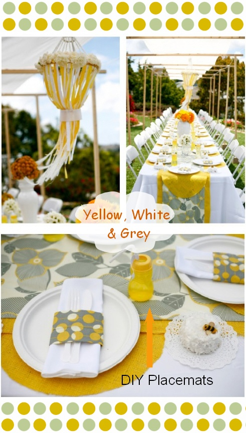 15 best images about springs wedding tablescapes on - Yellow and orange wedding decorations ...
