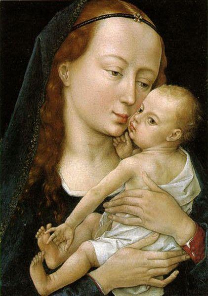 Рогир ван дер Вейден - Мадонна с младенцем