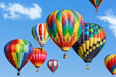Colorful hot air balloons© Mariusz Blach
