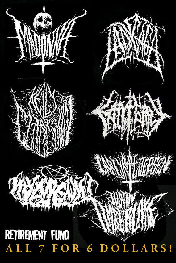 mega deal on pop music black metal grind patches 7 patches for 6 dollars