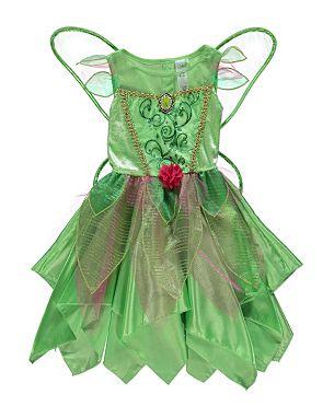 Disney Fairies Tinkerbell Fancy Dress Costume