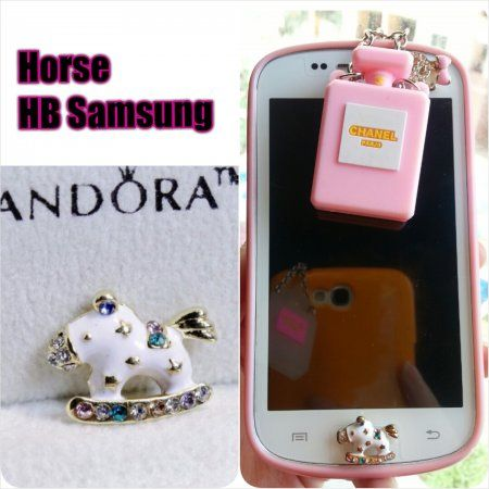 Cute Horse Home Button for Samsung