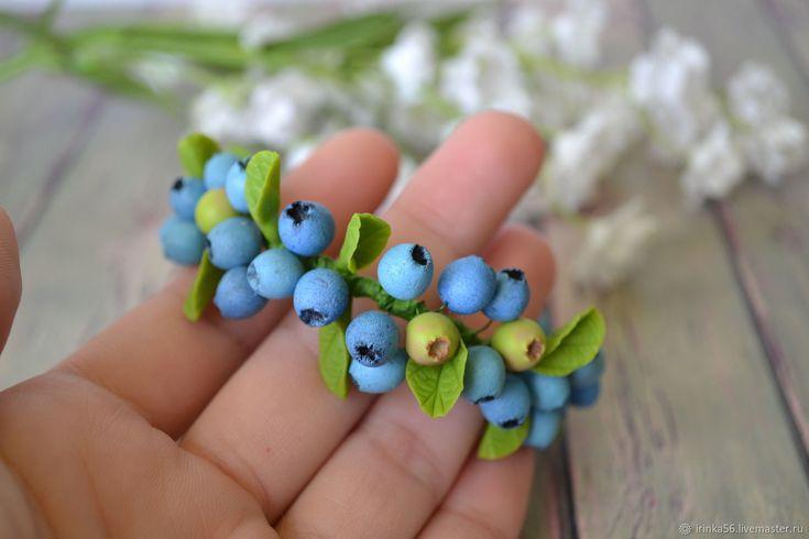 Купить Браслет с ягодами черники в интернет магазине на Ярмарке Мастеров