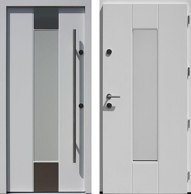 Drzwi wejściowe do domu z katalogu inox wzór 440,1-440,11+ds3